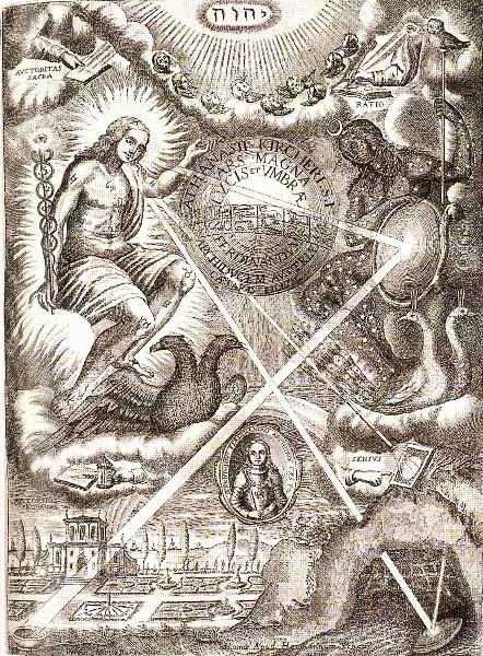 a kircher, ars magna lucis, 1665
