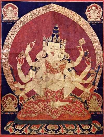 A Buddhist depiction of tantrism