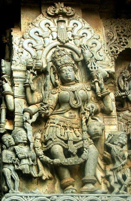 The goddess Chamunda